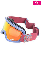 DRAGON D2 Ice Goggle fire red ionized
