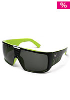 DRAGON Domo Sunglasses jet lime grey