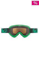 DRAGON DX Snow Goggle pop green jet