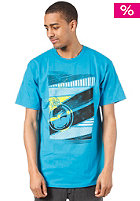 DRAGON Geo Summit S/S T-Shirt turquoise