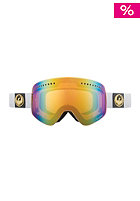 DRAGON NFX Snow Goggle white gold ion