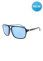 DRAGON Passport Sunglasses matte black/sky blue ion