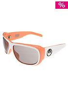 Pin Up Sunglasses white peach split grey