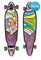 DUSTERS Complete Longboard Flora purple/green