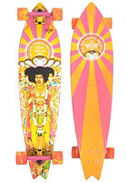 DUSTERS Complete Longboard Hendrix Axis Bold 9.00 one colour