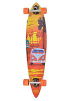 DUSTERS Complete Longboard Highway One orange