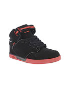 DVS Selector Hi Kids black/red nubuck