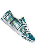 DVS Womens Farah teal plaid canvas