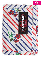 EASTPAK Crew Single Wallet blossybloom nero white