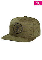 ELECTRIC Charged EV Snapback Cap combat green