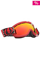 ELECTRIC EG.5s RIDS-Cheryl Goggle grey/red chrome