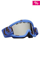 ELECTRIC EG1 Icy Blue Goggle bronze/silver chrome