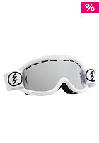 ELECTRIC EG1K Gloss White Goggles bronze/silver chrome