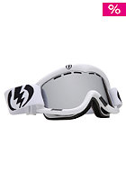 ELECTRIC EG1K Goggle gloss white bronze/silver chrome