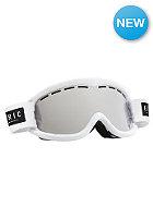 ELECTRIC EG1K Goggle gloss white-bronze/silver chrome