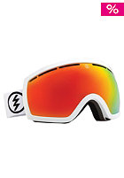 ELECTRIC EG2.5 Gloss White Goggles bronze/red chrome