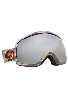 ELECTRIC EG2 Combat Matte Goggles bronze/red chrome