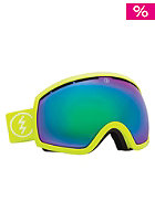 ELECTRIC EG2 Toxic Snot Goggles bronze/green chrome