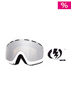 ELECTRIC EGB Goggle gloss white bronze/silver chrome