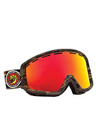 ELECTRIC EGB2 Combat Matte Goggles bronze/red chrome
