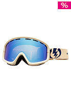 ELECTRIC EGB2 Goggle armor sand bronze/blue chrome