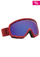 ELECTRIC EGB2s Brick Matte Goggles bronze/blue chrome
