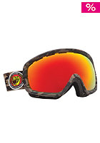 ELECTRIC EGB2s Combat Matte Goggles bronze/red chrome
