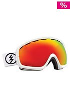 ELECTRIC EGB2s Gloss White Goggles bronze/red chrome