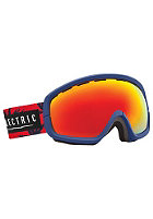ELECTRIC EGB2s Goggle blues fronds-bronze/red chrome +bl