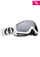 ELECTRIC EGK Gloss White Goggle bronze/silver chrome