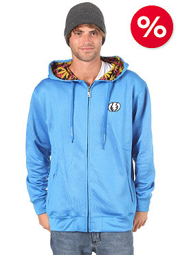 ELECTRIC Pattern Fill Basic Hooded Zip Sweat royal