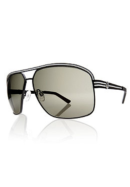 ELECTRIC Vegus Sunglasses matte black/ grey fire chr