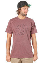 ELECTRIC Volt Line II Custom S/S T-Shirt blood red heather