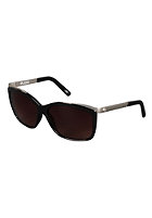 ELECTRIC Womens Plexi Sunglasses gloss black/brown gardient