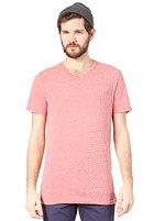 ELEMENT Basic F V S/S T-Shirt RED HEATHER
