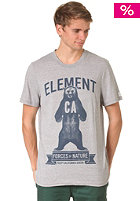 ELEMENT California Bear F S/S T-Shirt grey heather