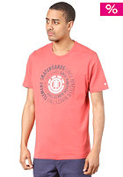 ELEMENT Central  R S/S T-Shirt BERRY