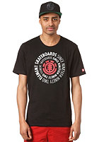 ELEMENT Central  R S/S T-Shirt black