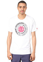 ELEMENT Central  R S/S T-Shirt WHITE