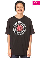 ELEMENT Central S/S T-Shirt black