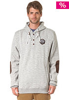 ELEMENT Chopped Hooded Sweat grey heather