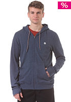 Cornell Hooded Zip Sweat dark denim