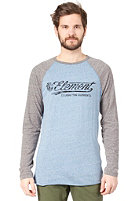 ELEMENT Dash F L/S T-Shirt blue heather