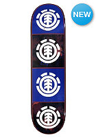ELEMENT Deck Team Black Floral Quadrant 8.25 one colour