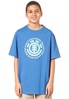 ELEMENT Elemental S/S T-Shirt vintage blue