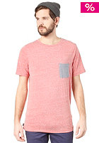 ELEMENT Endless S/S T-Shirt red heather