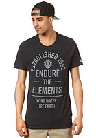 ELEMENT Established F S/S T-Shirt off black
