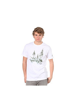 ELEMENT Final Outcome Milita S/S T-Shirt white
