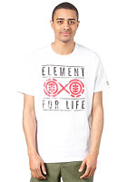 ELEMENT Forever R S/S T-Shirt white