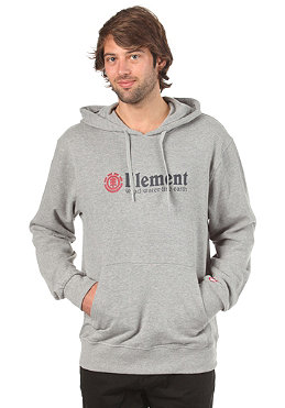 ELEMENT Horizontal Hooded Sweat grey heather